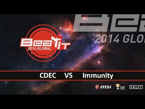 [ Dota2 ] CDEC vs Immunity - MSI Beat IT Finals - Thai Caster