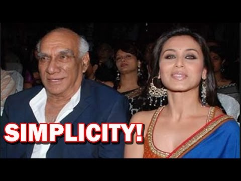 Mardaani Movie - Rani Mukerji talks about Yash Chopra's simplicity! | Bollywood News