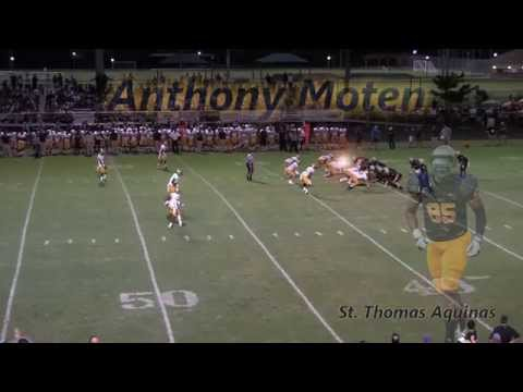 Anthony Moten Highlight 1 St. Thomas Aquinas High School Ft. Lauderdale, FL.
