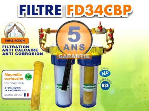Filtre anti calcaire et anti corrosion youtube - Cartouche filtre anti calcaire ...