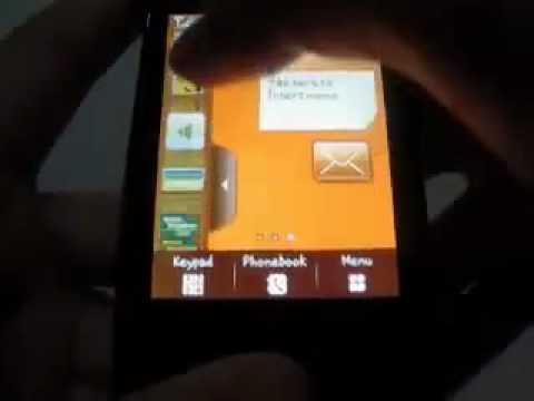Samsung Corby Wifi S3653w Mobile Phone video