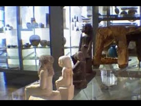 Spinning Statue - Mystery of Ancient Egyptian Statue Spooks Manchester British M