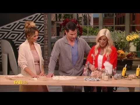 Tori Spelling's DIY Thanksgiving Centerpieces