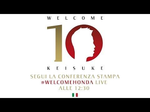 AC Milan | Keisuke Honda - Presentazione Ufficiale (ITA)
