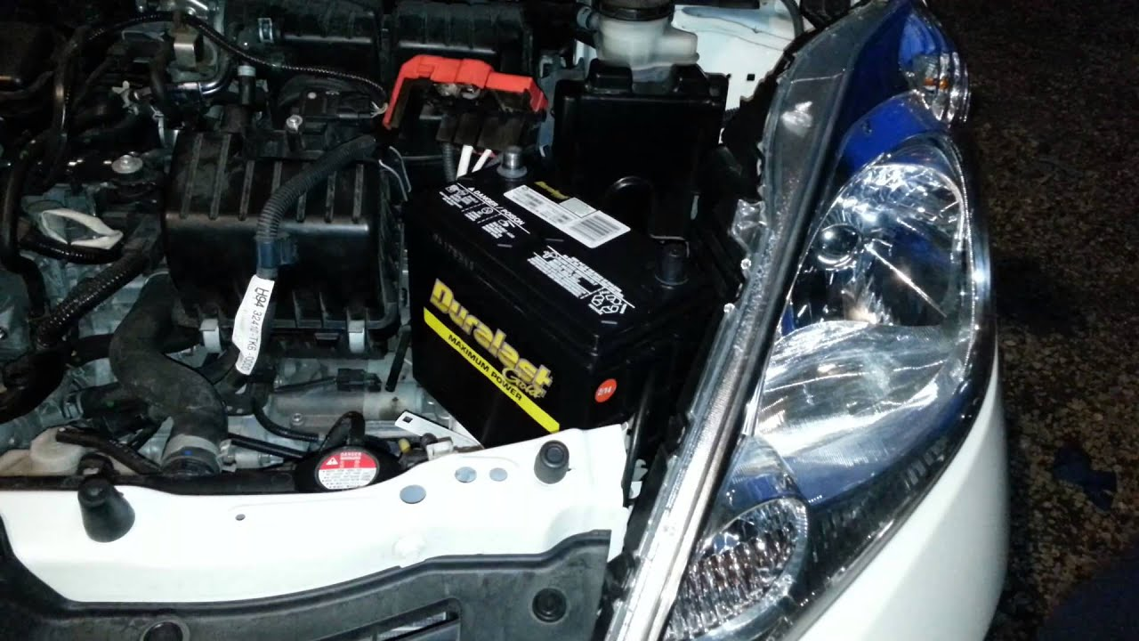 How To Replace  Honda Civic Car Battery
