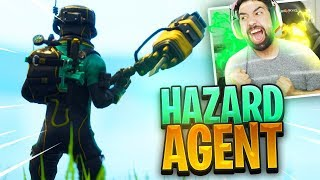 "NEW FORTNITE ""TOXIC AGENT"" Skin Gameplay.."