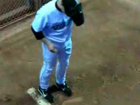 Roy Halladay (close-up) warming up in bullpen Video