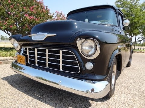 1955 Chevy Truck / HOT Texas Pickup Music Videos