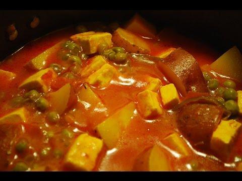 Shahi Matar Paneer Indian Recipe | Shree Khana Khazana