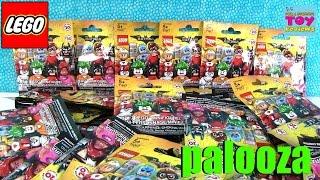 Lego The Batman Movie Limited Edition Minifigures Palooza Opening 71017 | PSToyReviews
