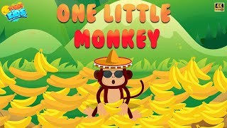One little monkey | Animation Rhymes For Kids | Funny Kids | Kids Songs & Kids Rhymes