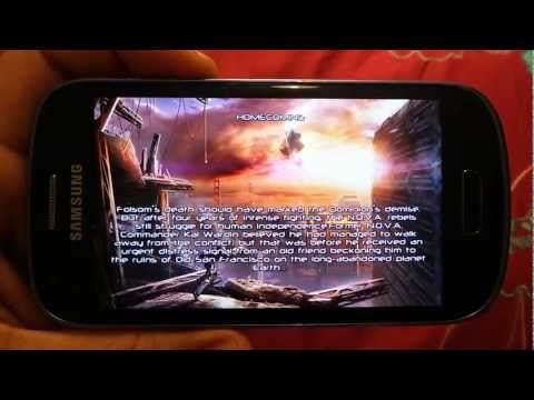 SAMSUNG GALAXY S3 MINI NOVA 3 GAMEPLAY
