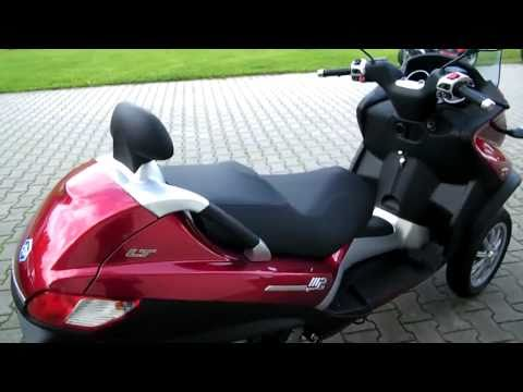 Piaggio MP3 400 LT-2010 Roller/Scooter rot