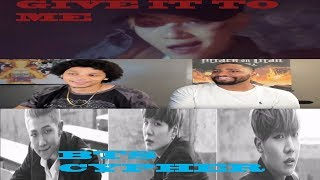 BTS CYPHER PT.2 & GIVE IT TO ME [ DOUBLE BTS REACTION]