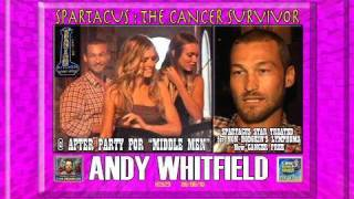 Andy Whitfield, Cancer Free, Parties @ Spanish Kitchen H2629