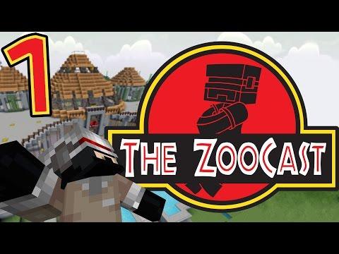 Minecraft Jurassic Park #1 Preparing For ADVENTURE! [ZooCast]