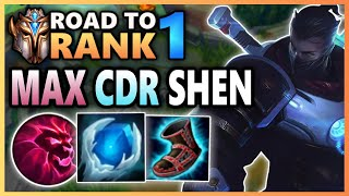 Witness the power of Max CDR Shen (66s ULT CD???) - Road To Rank 1 (#21)
