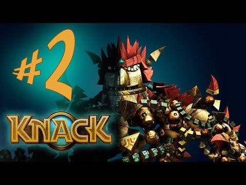 Knack - Parte 2: A Porta Das Relíquias! [ Playstation 4 - Playthrough em PT-BR ]