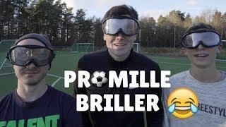 FOTBALL MED PROMILLE BRILLER