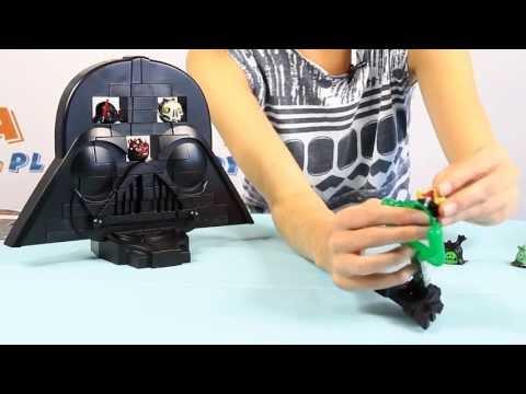 Jenga Rise of Darth Vader Game / Gra Jenga Powrót Darth Vader'a - Star Wars - Angry Birds -