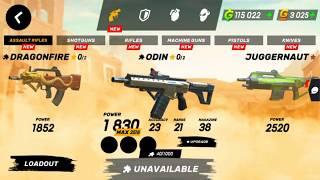 guns of boom || level 34 || buying juggernaut || Noob