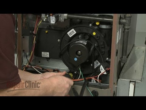 Furnace Draft Inducer Motor Replacement – York Furnace Repair (Part #S1-32642583000)