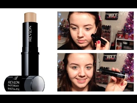 NEW Revlon Photoready Insta-Fix Foundation   Review & Demo