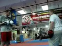 Bob Dillon training David Price (Bronze Medallist)