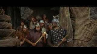MYTHBUSTERS VIKING AXE LADDER The Vikings 1958 Tony Curtis Kirk Douglas