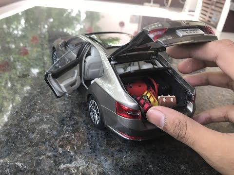Diecast Unboxing-2016 Skoda Superb 1/18 Paudi Models
