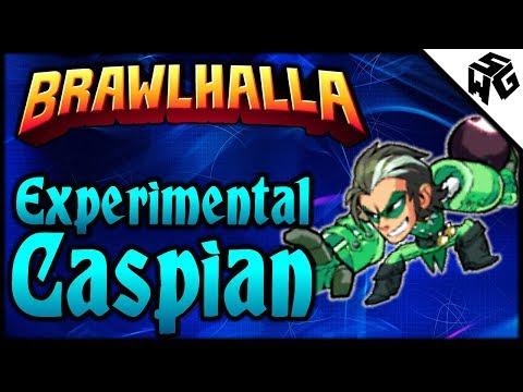 Experimental Caspian 1v1's - Brawlhalla Gameplay :: At Least I Still Agro!