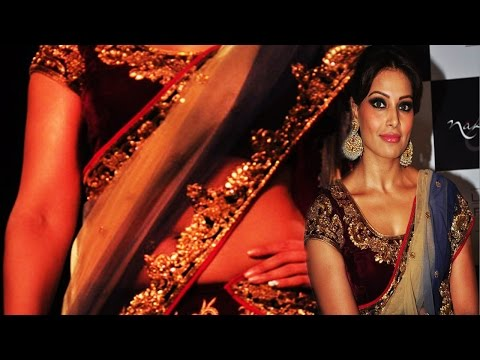 Bipasha Basu Looking Sexy Bangali Aunty ! video