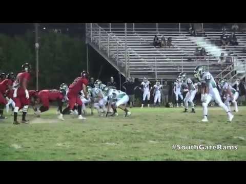 Andrew Toro South Gate Rams QB Interview vs Eagle Rock Eagles 2014