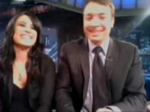 Flashback: Demi Lovato, Jimmy Fallon Sing Metal Cover of Barney Theme news