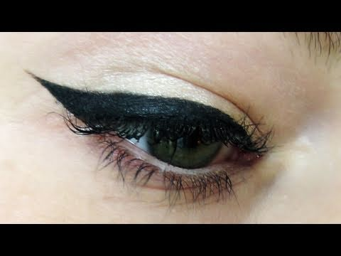 Perfect Wing Eyeliner Cat Eye Howto