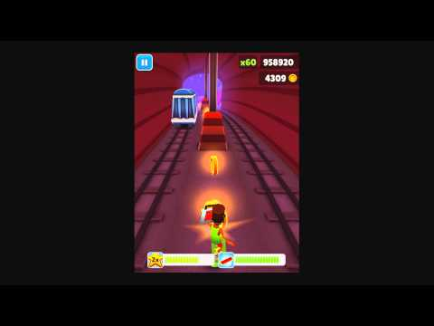 Subway Surfers - iOS Gameplay Highscore Christmas Glitch - HD