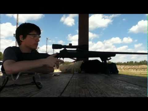Savage Axis .223 Shooting