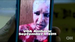 Ethiopian nanny Shweyga Molla who burned brutally sent message to her mother