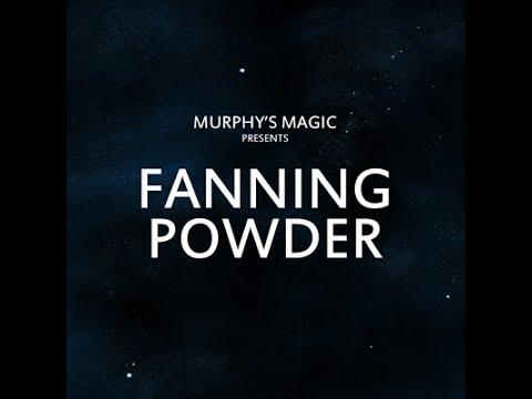 Murphys Magic Fanning powder put to the test DemoTutorialReview