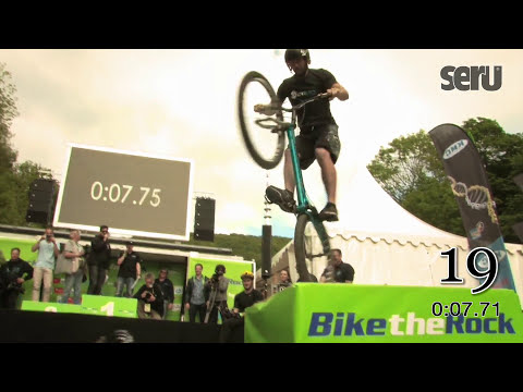 Trial Jump Guinnes World Record in Heubach 2014 Bike The Rock
