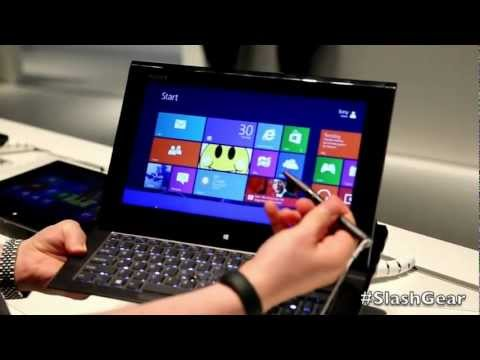 Sony VAIO Duo 11 hands on