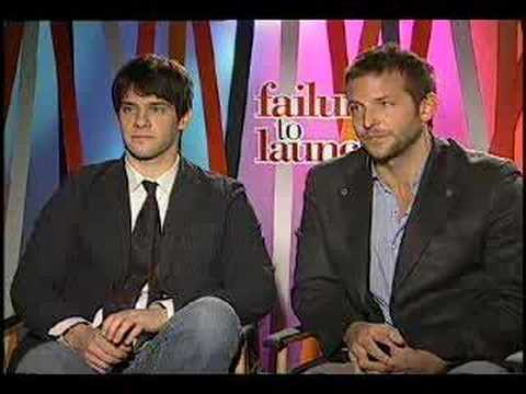 Justin Bartha Bradley Cooper interview for Failure to Launch Video