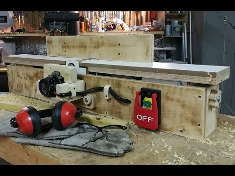 Homemade Jointer Build Part 5