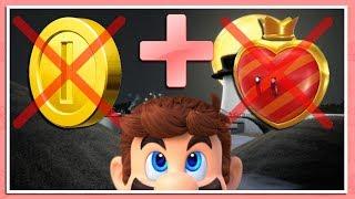 NO DAMAGE + NO COINS RUN   Super Mario Odyssey