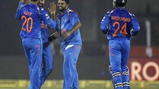 India vs Sri Lanka ODI 2014 | dhawan, rahane tons India won by 169 runs