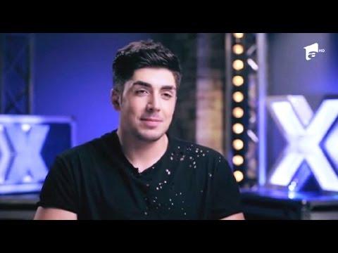 Alex Mladin, emoţii pe scena X Factor!