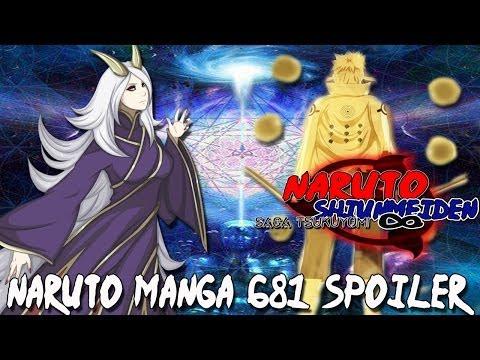 Naruto Manga 681 Spoiler - El Poder Dividido El Sol e Luna. 5 Heraldos De Kaguya   World Tros