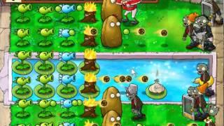 Зомби против растений прохождение мини игр последний живой