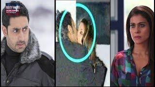 Ajay Devgan  smooched  Aishwarya Rai in front of Abhishek Bachchan | Aishwarya Rai Kiss