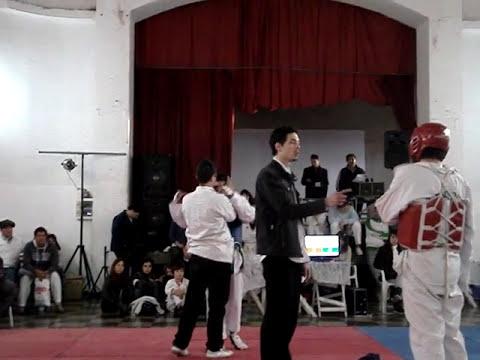 taekwondo fractura nariz por codazo